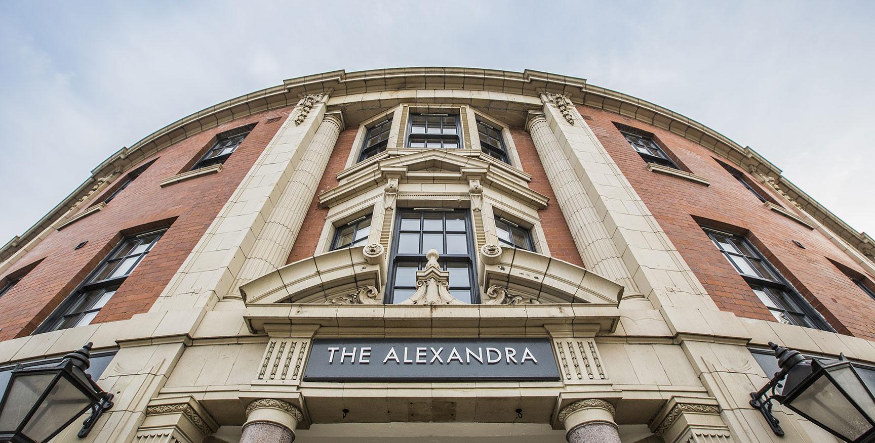 Alexandra House - Luxury Student Accommodation Sheffield (external view)