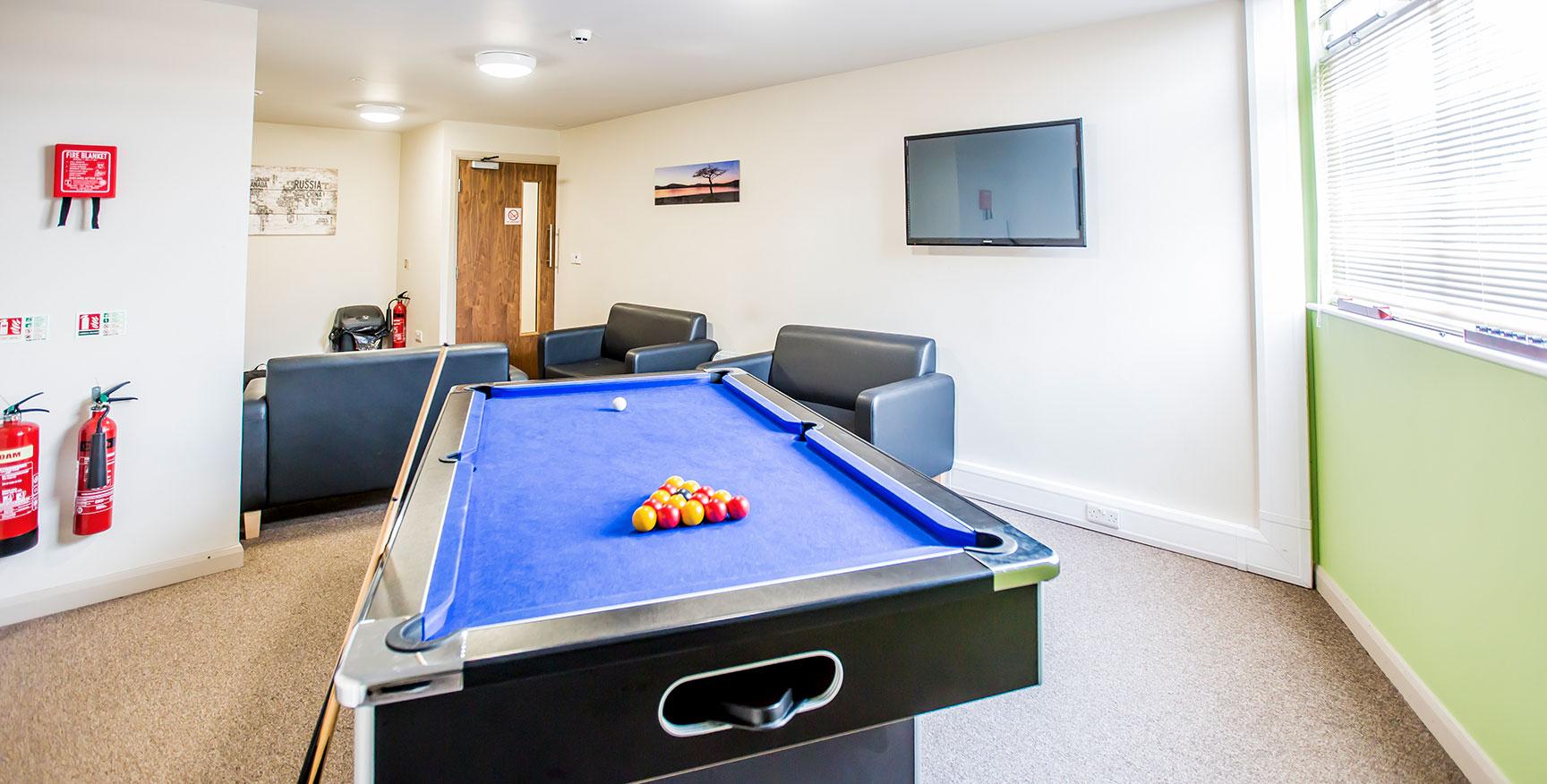 Alexandra House - Luxury Student Accommodation Sheffield (communal room)