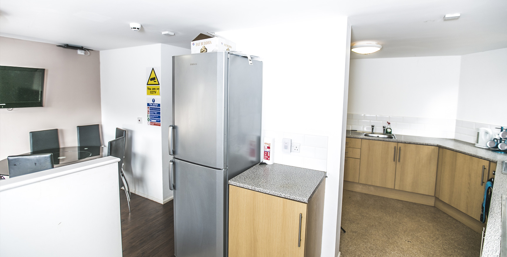 St Ann's Lodge - Luxury Student Accommodation Leeds Headingley (kitchen)