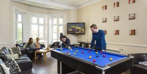 St Ann's Lodge - Luxury Student Accommodation Leeds Headingley (communal room)